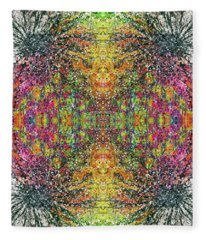 The Divine Within The 5d Earth #1318 Fleece Blanket
