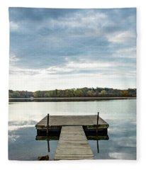 The Dock Fleece Blanket