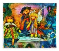 The Dolls Fleece Blanket
