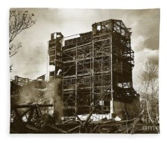 The Dorrance Breaker Wilkes Barre Pa 1983 Fleece Blanket