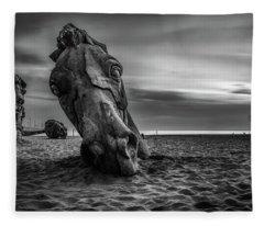 The Dread Horses Fleece Blanket