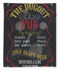 The Dugout Pub Fleece Blanket