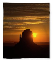The Earth Awakes Fleece Blanket