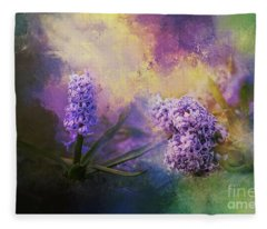 The Earth Laughs In Flowers Fleece Blanket