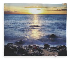 The Ebb And Flow Fleece Blanket