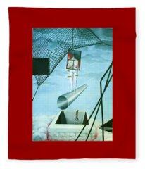 The Edge Fleece Blanket