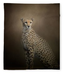 The Elegant Cheetah Fleece Blanket