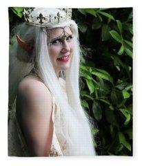 The Elven Queen Fleece Blanket