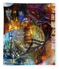 The Embers Of Memory Fleece Blanket