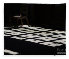 The Empty Chair Fleece Blanket