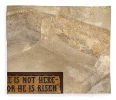 The Empty Tomb Fleece Blanket