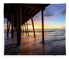 The Enchanted Pier Fleece Blanket