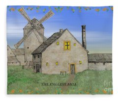 The English Mill V4 Fleece Blanket