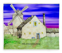The English Mill V5 Fleece Blanket