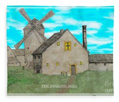 The English Mill V6 Fleece Blanket