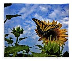 The Essence Of Summer Fleece Blanket