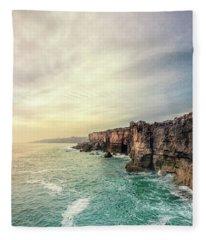 The Eternal Song Of The Ocean Fleece Blanket