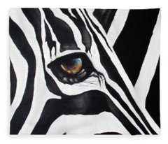 The Eye Of The Storm Fleece Blanket