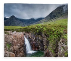 The Fairy Pools Fleece Blanket