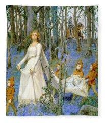 The Fairy Wood Fleece Blanket