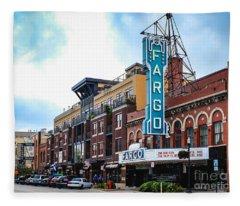 The Fargo Theater Fleece Blanket