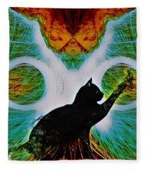 The Feline Fleece Blanket