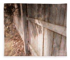 The Fence Fleece Blanket