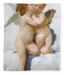 The First Kiss  Fleece Blanket