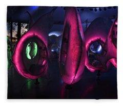 The Fish Spin - Seaglass Carousel Fleece Blanket