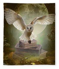The Flying Wise Fleece Blanket