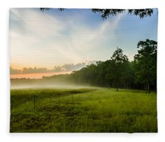 The Fog Of War Fleece Blanket