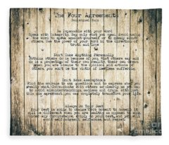 The Four Agreements 8 Fleece Blanket