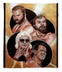 The Four Horsemen Fleece Blanket