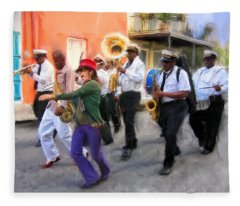 The French Quarter Shuffle Fleece Blanket