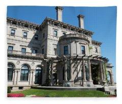 The Gardens The Breakers Vanderbilt Mansion Newport Rhode Island Fleece Blanket