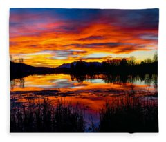 The Gates Of Heaven No. 2 Fleece Blanket