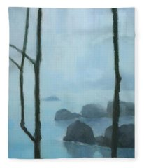 The Gathering Iguazu Falls Fleece Blanket