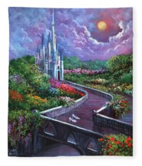 The Glass Slippers Fleece Blanket