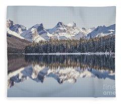 The Glorious Land Fleece Blanket