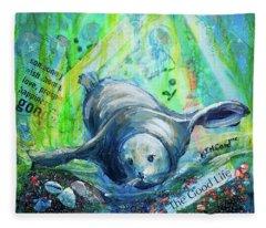 The Good Life Fleece Blanket