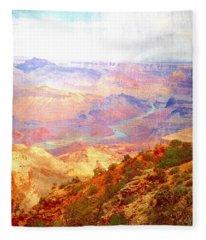 The Grand Canyon  Fleece Blanket