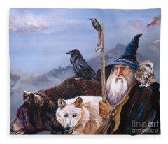 The Grand Parade Fleece Blanket