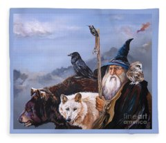 Wizard Fleece Blankets