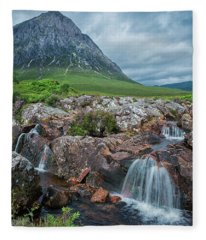 The Great Herdsman Of Glencoe Fleece Blanket