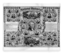 The Great National Memorial Fleece Blanket