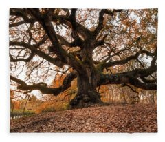 The Great Oak Fleece Blanket