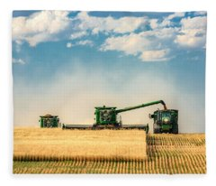 The Green Machines Fleece Blanket