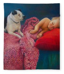 The Guardian Fleece Blanket
