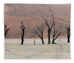 The Guardians - Dead Vlei Fleece Blanket