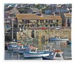 The Harbour Inn Porthleven Fleece Blanket